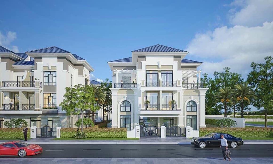 Thiết kế dự án Nhà Phố chung cư Verosa Park Quận 9 Đường Liên Phường chủ đầu tư Khang Điền