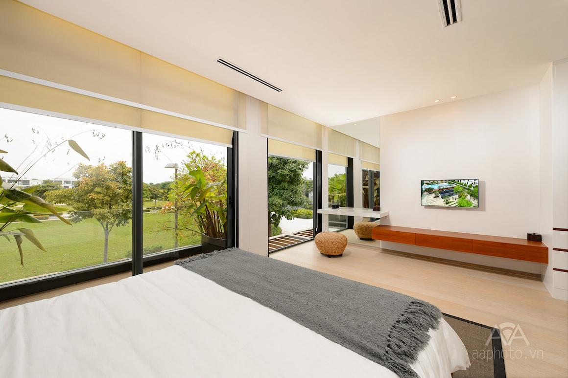 Nhà mẫu dự án Verosa Park Khang Điền Quận 9 - Phòng ngủ