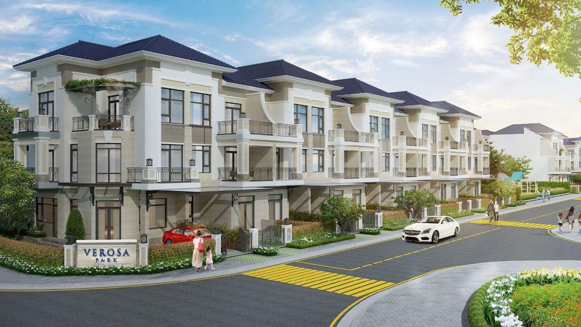 Phối cảnh dự án Nhà Phố Verosa Park Quận 9 của Chủ đầu tư Khang Điền. Liên hệ 0949.893.893 xem thực tế dự án