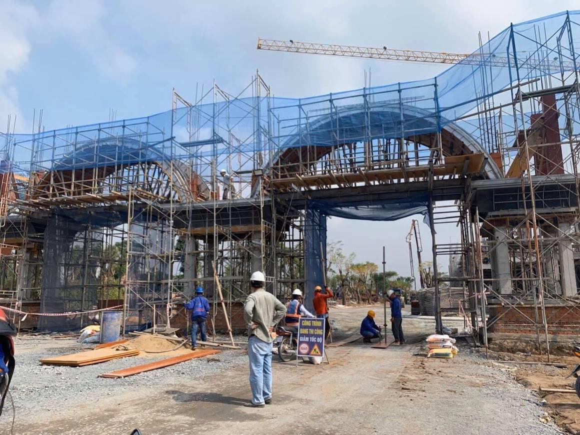Tiến độ dự án Nhà Phố Biệt Thự Verosa Park Quận 9 Đường Liên Phường chủ đầu tư Khang Điền
