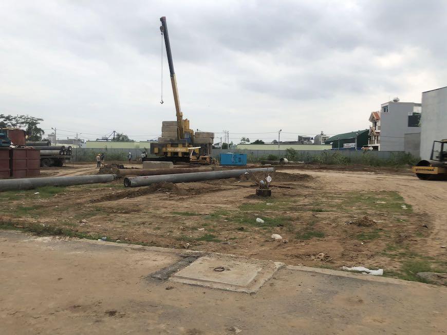 Tiến độ xây dựng dự án căn hộ Ricca Quận 9