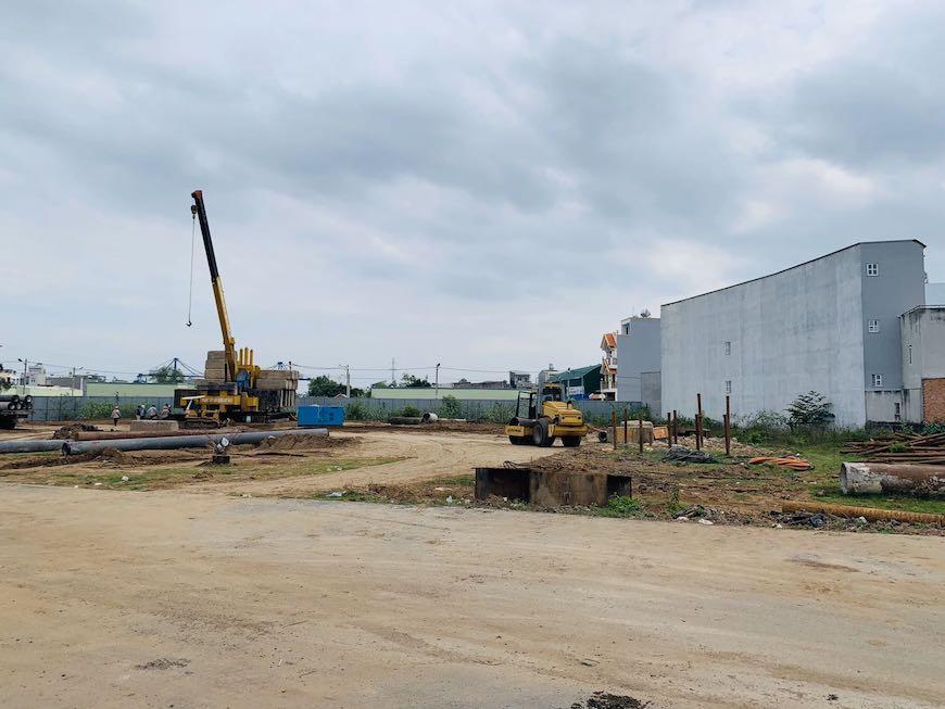 Thử tải xây dựng dự án căn hộ chung cư Ricca Gò Cát Quận 9