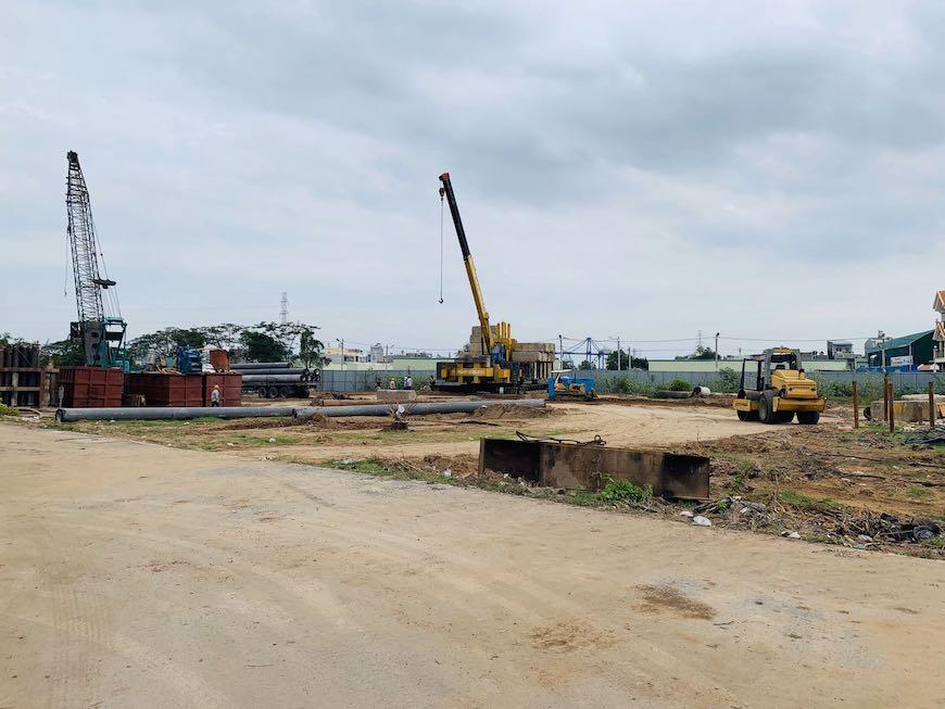 Thử tải xây dựng dự án căn hộ Ricca Gò Cát Quận 9