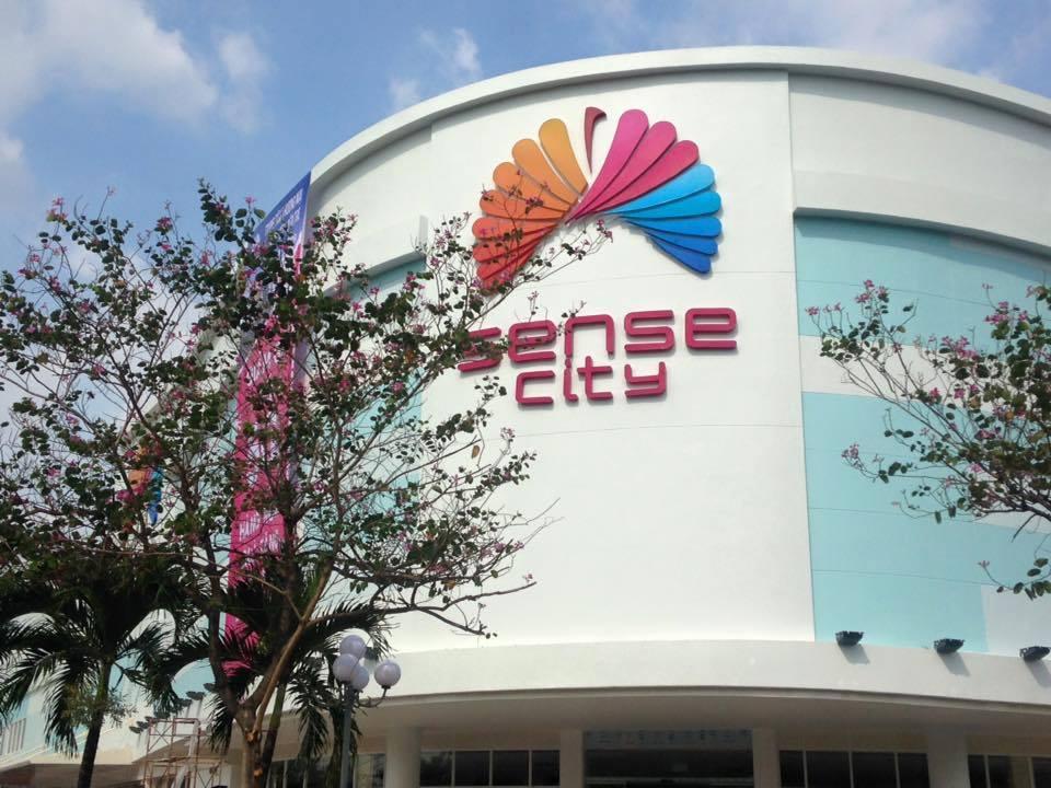 Trung tâm thương mại Sense City nằm liền kề dự án Verosa Park Khang Điền dự kiến hoàn thành vào đầu quí I/2020