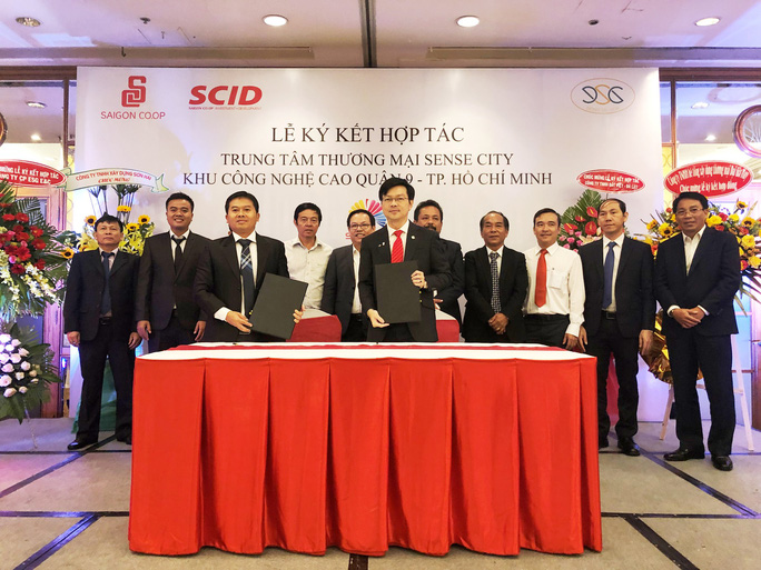 Saigon Co.op và Công ty CP Đầu tư Đông Sài Gòn ký kết hợp tác trung tâm thương mại Sense City quận 9