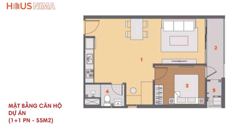 Mặt bằng tổng thể dự án căn hộ chung cư Hausnima Quận 9 mat bang du an can ho chung cu hausnima quan 9 3