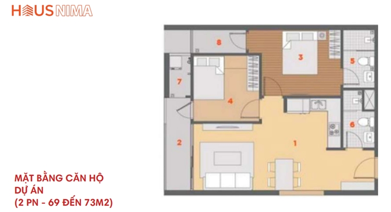 Mặt bằng tổng thể dự án căn hộ chung cư Hausnima Quận 9 mat bang du an can ho chung cu hausnima quan 9 4