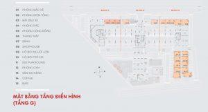 Mặt bằng tổng thể dự án căn hộ chung cư Hausnima Quận 9