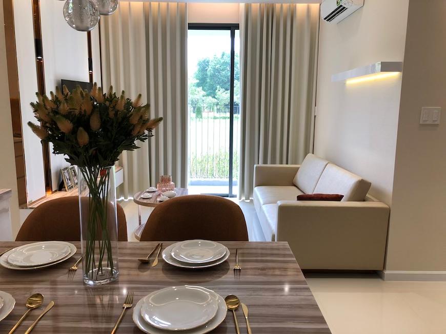 Thiết kế nhà mẫu dự án căn hộ D'lusso Quận 2 đóng nắng và gió