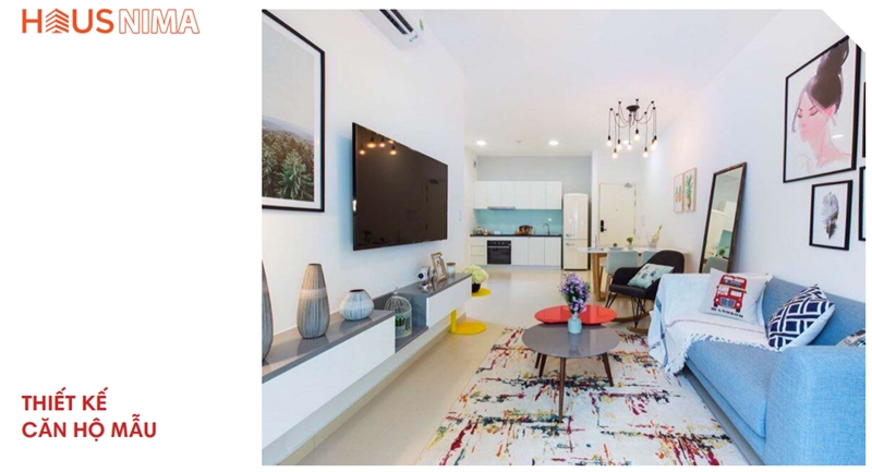 Hình ảnh nhà mẫu dự án căn hộ chung cư Hausnima Quận 9 nha mau du an can ho chung cu hausnima quan 9