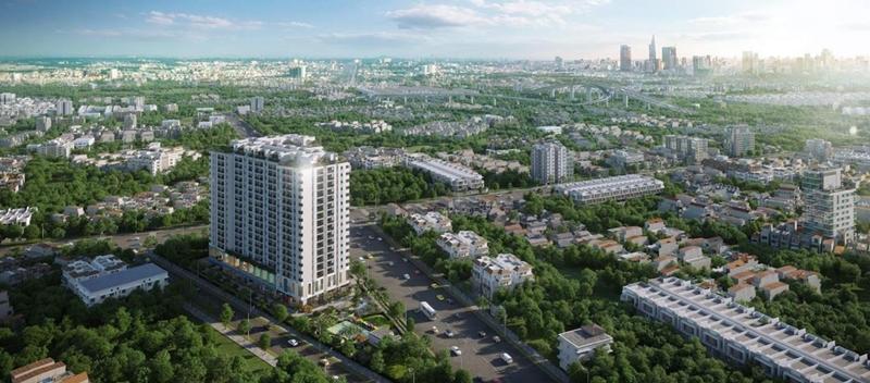 Tại sao chủ đầu tư Công ty Tân Phú dành cả tâm huyết cho dự án căn hộ Ricca Gò Cát Quận 9? phoi canh can ho ricca quan 9