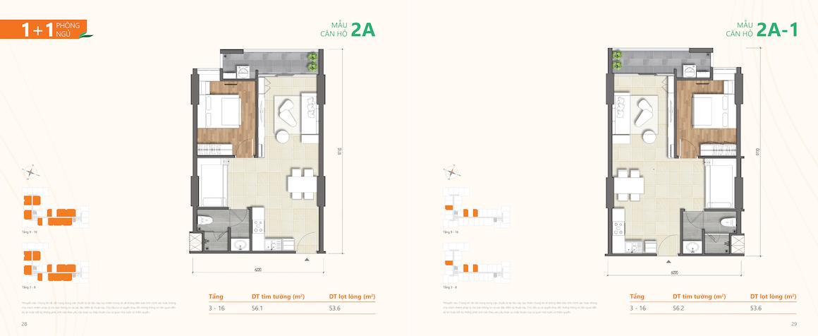 Thiết kế dự án căn hộ chung cư Ricca Quận 9 căn 1 PN