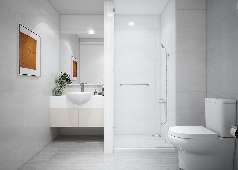 Nhà vệ sinh dự án căn hộ Ricca Quận 9