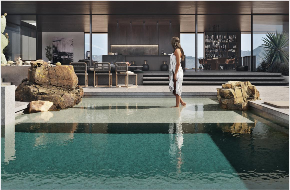 Thiết kế nội thất biệt thự Hồ Tràm Complex