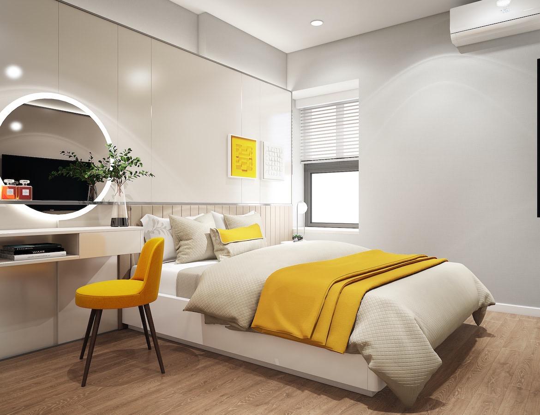 Thiết kế phòng ngủ dự án căn hộ Ricca Quận 9