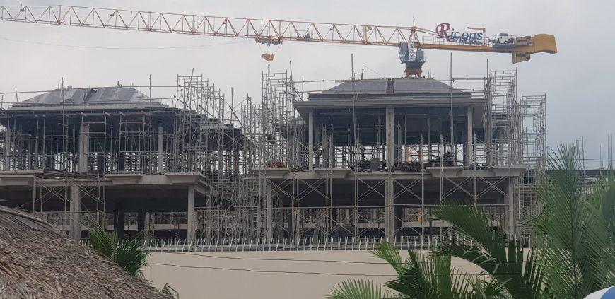 Tiến độ xây dựng dự án nhà phố Verosa Park Quận 9 chủ đầu tư Khang Điền. Nhà phố Verosa dãy E đang hoàn thiện phần thô