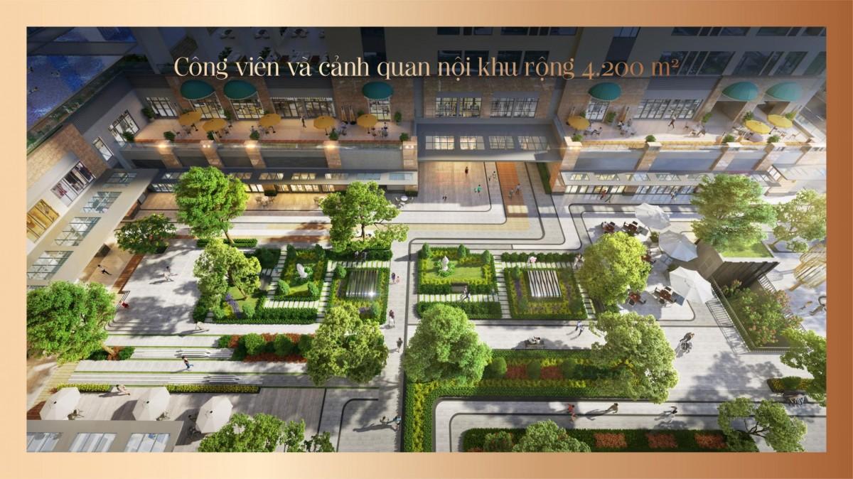 Tiện ích dự án Soho Residence quận 1