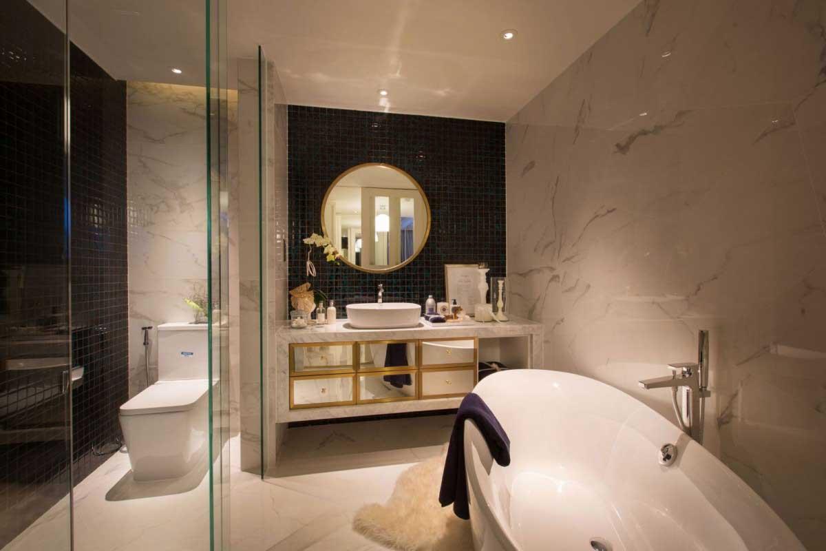 Toilet căn hộ Soho Residence