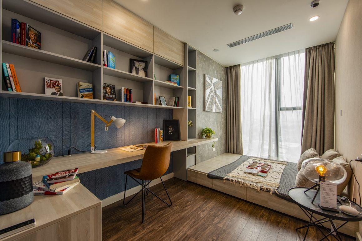 Phối cảnh căn hộ 3PN dự án Sunshine Horizon Quận 4