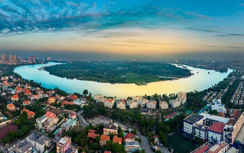 Lý do bất động sản Quận 2 khu Thảo Điền thu hút khách hàng can ho chung cu khu thao dien q2 2