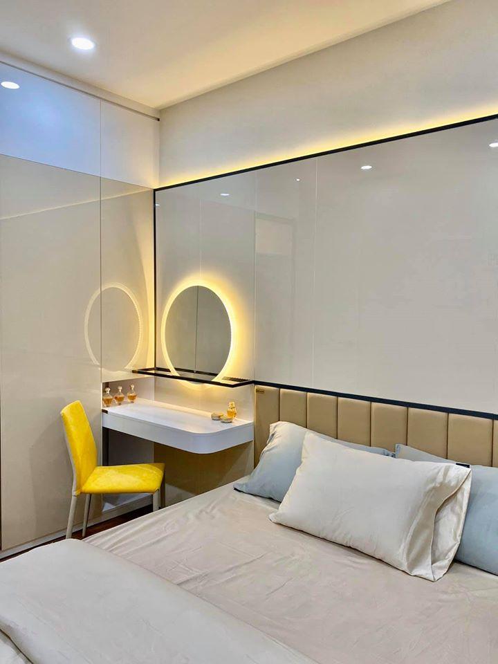 Một góc hình ảnh tại phòng ngủ tại nhà mẫu dự án Ricca Quận 9