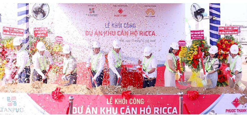Dự án Ricca quận 9 bổ sung nguồn cung căn hộ đầu năm 2020 le khoi cong du an can ho ricca quan 9