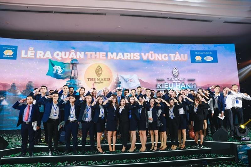 1.000 người dự lễ ra quân dự án The Maris Vũng Tàu le ra quan du an the maris vung tau