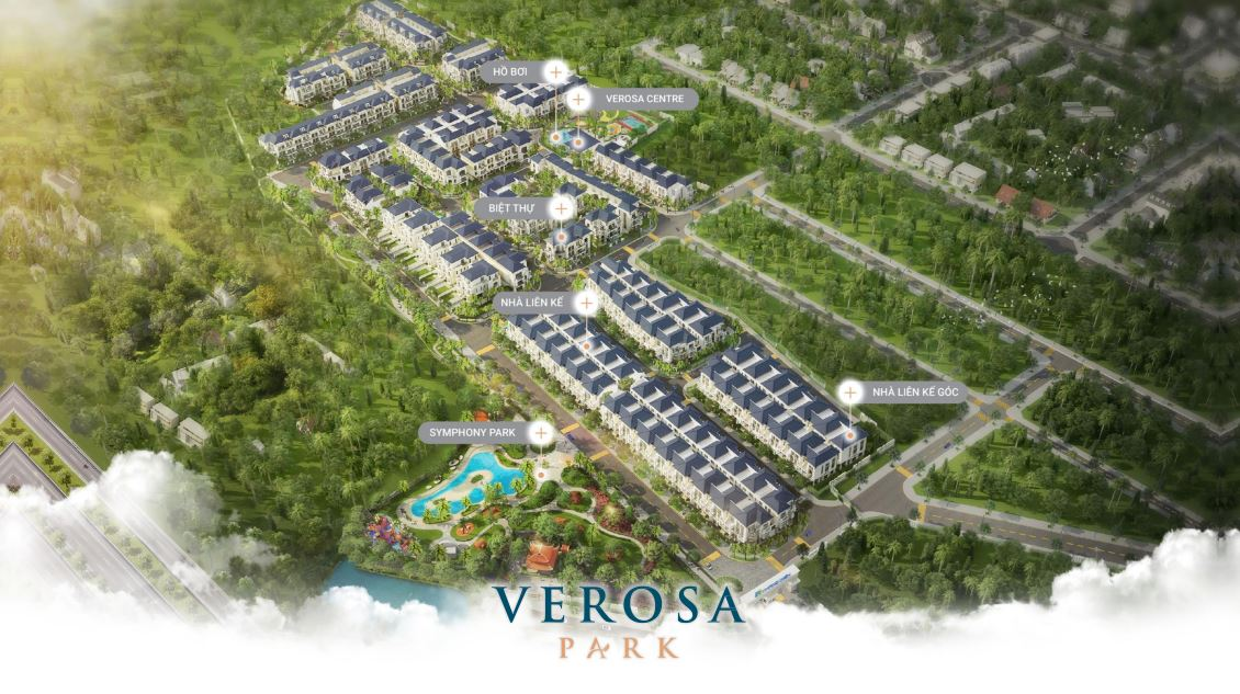 Bất động sản quận 9 tăng giá nhờ hạ tầng lien ket vung du an biet thu verosa park khang dien 4