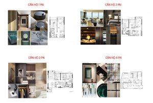Chi tiết mặt bằng dự án căn hộ The River Thủ Thiêm Quận 2