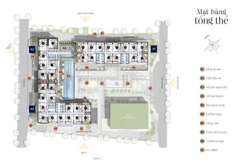 Chính Sách Và Giá Bán Căn Hộ Soho Residence Novaland Quận 1 mat bang du an can ho soho residence co giang quan 1 2