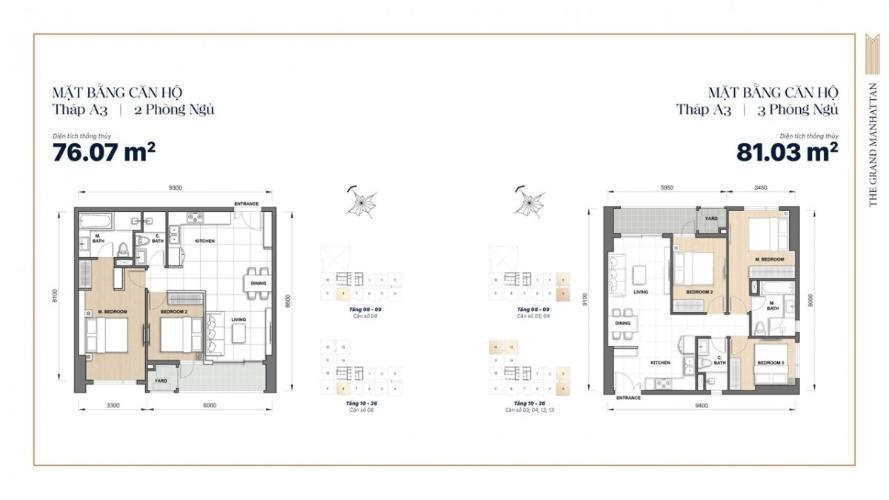 Mặt Bằng Thiết Kế Căn Hộ Soho Residence Novaland Quận 1 mat bang tang du an can ho soho residence 1
