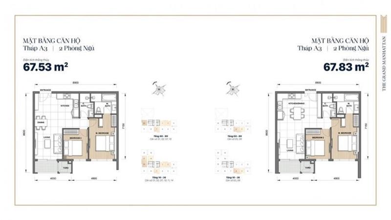 Mặt Bằng Thiết Kế Căn Hộ Soho Residence Novaland Quận 1 mat bang tang du an can ho soho residence 3