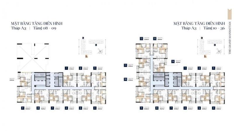 Mặt Bằng Thiết Kế Căn Hộ Soho Residence Novaland Quận 1 mat bang tang du an can ho soho residence 4