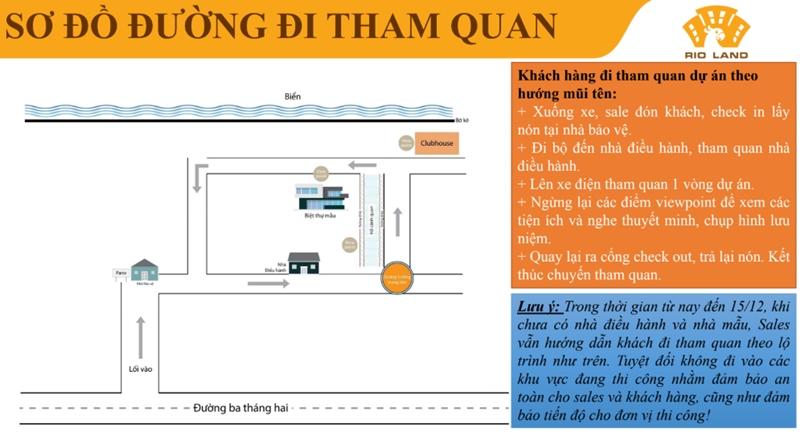 Quy trình đưa khách tham quan dự án The Maris Vũng Tàu quy trinh dua khach tham quan du an the maris vung tau 2