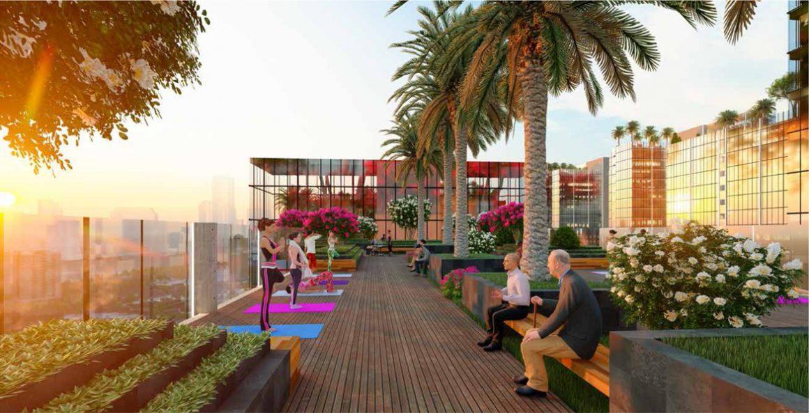 Sky Garden tại dự án Căn hộ Chung Cư Sunshine Horizon Quận 4