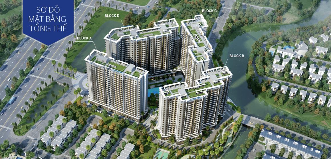 Sơ đồ mặt bằng tổng thể dự án Safira Khang Điền Quận 9