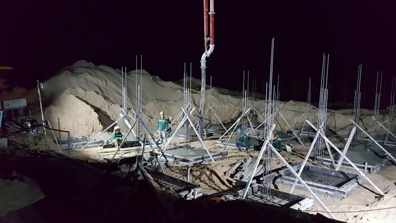 Tiến độ xây dựng dự án biệt thự The Maris Vũng Tàu 24/11/2019 tien do thi cong du an the maris vung tau ngay 24 11 2019 10