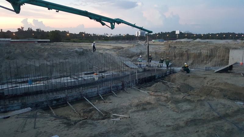 Tiến độ xây dựng dự án biệt thự The Maris Vũng Tàu 24/11/2019 tien do thi cong du an the maris vung tau ngay 24 11 2019 11