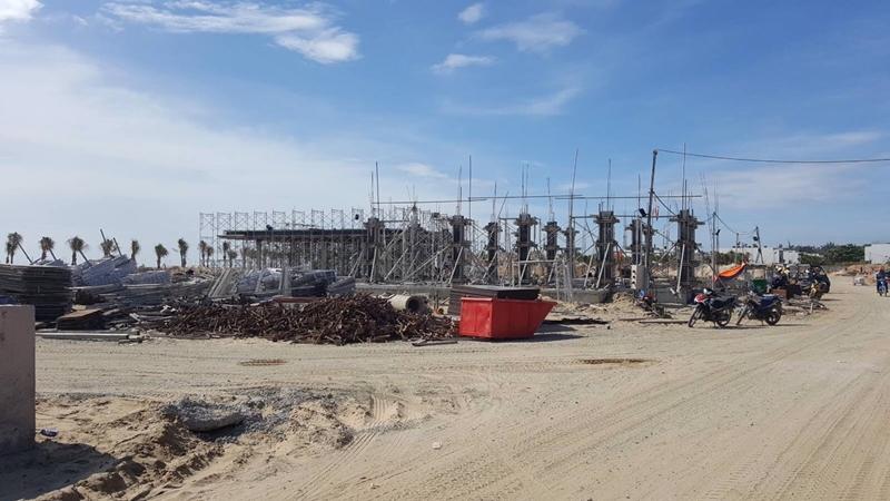 Tiến độ xây dựng dự án biệt thự The Maris Vũng Tàu 24/11/2019 tien do thi cong du an the maris vung tau ngay 24 11 2019 3