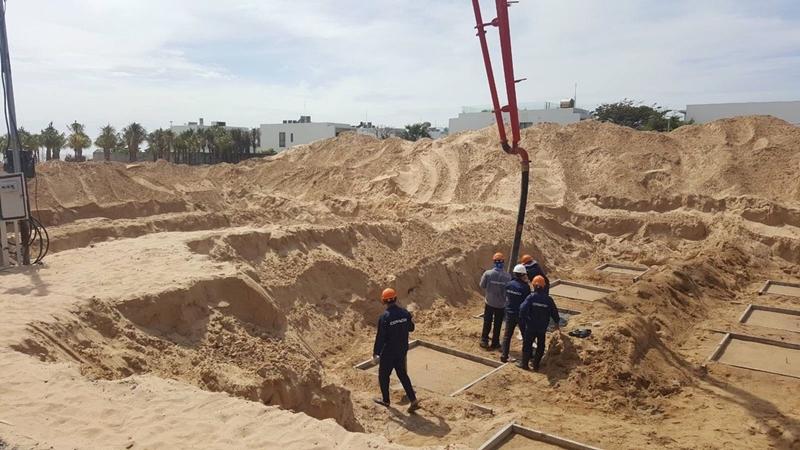 Tiến độ xây dựng dự án biệt thự The Maris Vũng Tàu 24/11/2019 tien do thi cong du an the maris vung tau ngay 24 11 2019 6