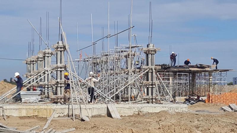 Tiến độ xây dựng dự án biệt thự The Maris Vũng Tàu 24/11/2019 tien do thi cong du an the maris vung tau ngay 24 11 2019