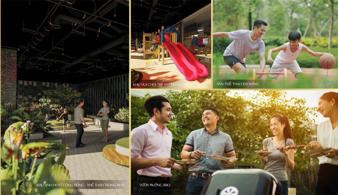 Tiện ích tổ hợp vui chơi tại dự án chung cư Sunshine Horizon Quận 4