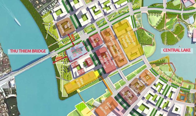 Vị trí địa chỉ dự án căn hộ The River Thủ Thiêm quận 2 vi tri can ho du an the river thu thiem 1
