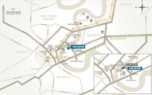 Vị trí địa chỉ dự án căn hộ The River Thủ Thiêm quận 2