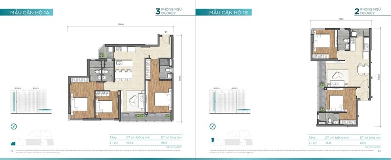 Mặt bằng chi tiết mẫu căn hộ của dự án D'lusso Quận 2 du can can ho chung cu dlussso quan 2 mat bang chi tiet can ho 0008