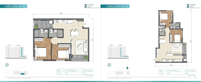 Mặt bằng chi tiết mẫu căn hộ của dự án D'lusso Quận 2 du can can ho chung cu dlussso quan 2 mat bang chi tiet can ho 0011
