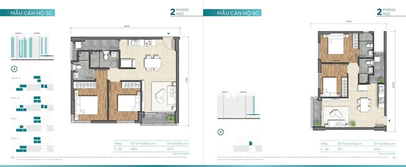 Mặt bằng chi tiết mẫu căn hộ của dự án D'lusso Quận 2 du can can ho chung cu dlussso quan 2 mat bang chi tiet can ho 0012