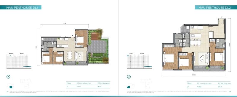Mặt bằng chi tiết mẫu căn hộ của dự án D'lusso Quận 2 du can can ho chung cu dlussso quan 2 mat bang chi tiet can ho 0016