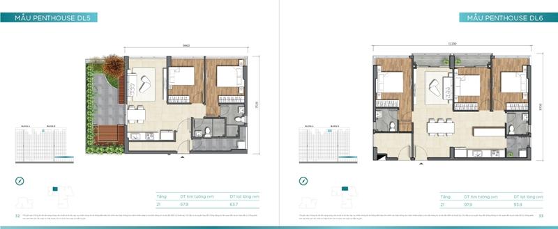 Mặt bằng chi tiết mẫu căn hộ của dự án D'lusso Quận 2 du can can ho chung cu dlussso quan 2 mat bang chi tiet can ho 0018