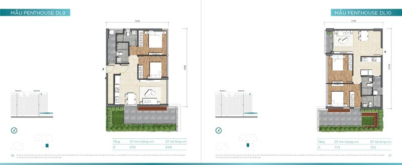 Mặt bằng chi tiết mẫu căn hộ của dự án D'lusso Quận 2 du can can ho chung cu dlussso quan 2 mat bang chi tiet can ho 0020